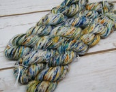 La Mer, Whimsies, 75/25% Superwash Extrafine Merino Wool/Nylon, 1 Mini Skein, 93 yards, Hand Dyed Yarn, Mini Skein