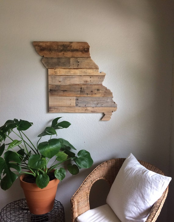 Missouri State Sign | Reclaimed Wood | Pallet Sign | Home Decor | Wall Art | - Missouri State Sign Reclaimed Wood Pallet Sign Home