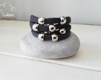 Bracelet for women, Fabric bracelet