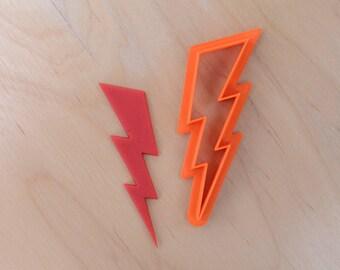 Lightning Bolt Cookie Cutter #2