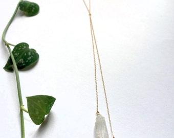 Natural Clear Quartz Necklace