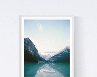 Nature prints, printable artwork, nature photography, nature print, digital photography, mountain, mountain print, landscape, lake dekor