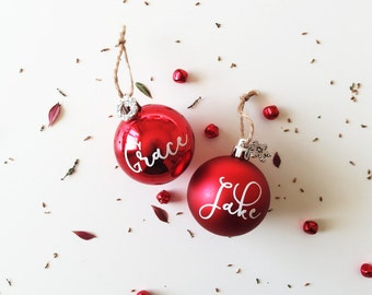 Unique Christmas Baubles Related Items Etsy