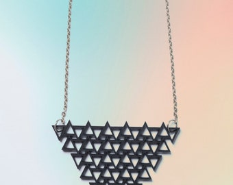 Triangle black chain