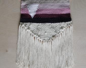 Handmade Weaving, Wall Hanging, Textile Art, Folk Art