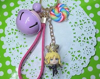 Fate Stay Night / Fate Zero Chibi Saber (Arthuria) Stylist Keychain