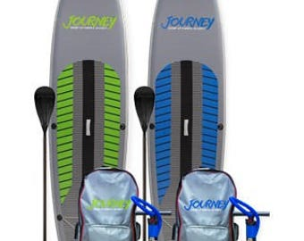 Journey Paddle Boards, Back Pack, Pump, Paddle, Repair Kit, Leash, Inflatable