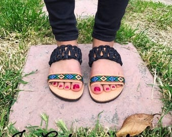 Greek Sandals, Leather Sandals, Ancient Sandals, Boho Sandals, Handmade Sandals, Greek Leather Sandals, Made in Greece, Barefoot Sandals