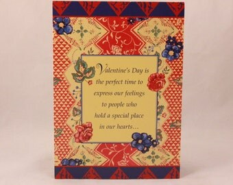 NEW! Vintage Valentine's Day by Andrews McMeel. 1 Card and 1 Envelope included.