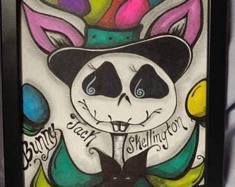 Bunny Jack Skellington, Original Artwork