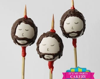 Game Of Thrones Cakepops (1 Dozen)