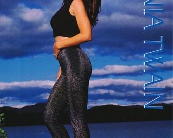 Shania Twain By The Lake Rare Poster