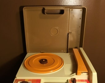 Fisher Price 1978 Record Player