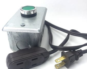 Green Toggle Switch - Extension Cord