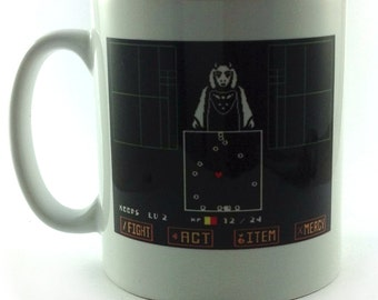 New undertale game gift mug cup present 11oz