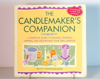 Candlemaking Book, The Candlemaker's Companion, How to make Candles, Create Candles , Step by Step Instruction for Candles, Candle Design