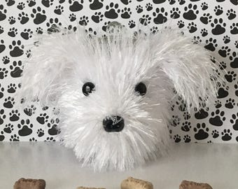 Bichon Frise - Dog Treat Jar - Bichon Frise Items - Dog Walker Gift - Bichon - Dog Mommy - Doggy Mom - Dog Groomer - Gifts For Dog People