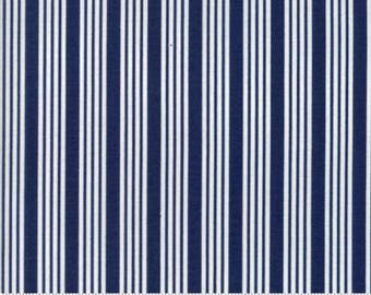PRE ORDER The Good Life Stripe in Navy by Bonnie and Camille for Moda 55157 16