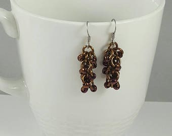 Shaggy Loops Chainmaille Earrings