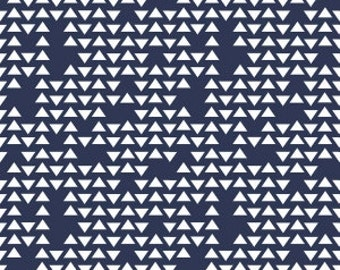 1 Yard  By Popular Demand by Simple Simon for Riley Blake Designs- 5782 Navy