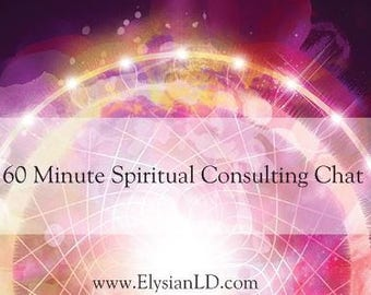 60 Min Spiritual Consulting Chat