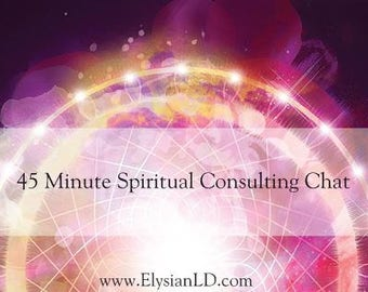 45 Min Spiritual Consulting Chat