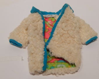 Vintage Francie The Combination Coat Only 1234 Mattel 1968-1970