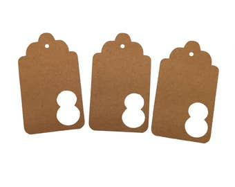 Number Eight Gift Tags