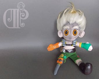Junkrat Overwatch Plush Doll Plushie Toy