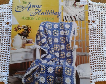 The Anne Halliday Afghan Collection 25 Crochet Designs by Leisure Arts