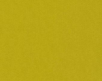 Pickle - Kona Cotton - Robert Kaufman 100% solid cotton quilt weight fabric Fat Quarters quilting dressmaking UK Shop K001-480