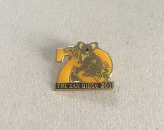 ON SALE // Vintage San Diego Zoo Brooch