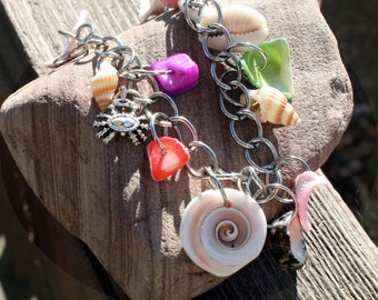 Silver Bracelet withShells of Many Kinds