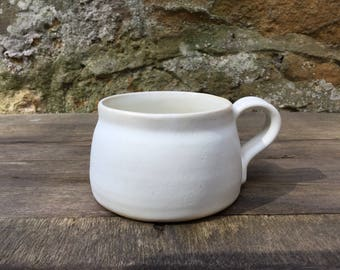 Hand thrown Stoneware Coffee mug #1