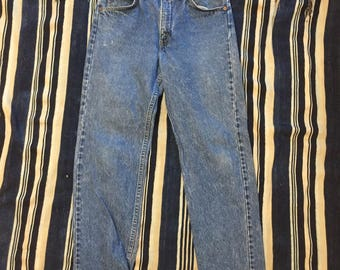 Vintage 1980s Levis Orange Tab Size 29x29(Measured) Made In USA
