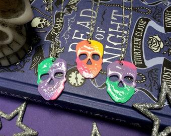 Rainbow Skull - Necklace