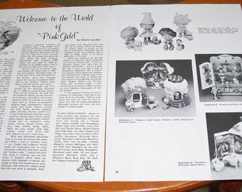 1982 Doll Magazine Article ~ Strawberry Shortcake