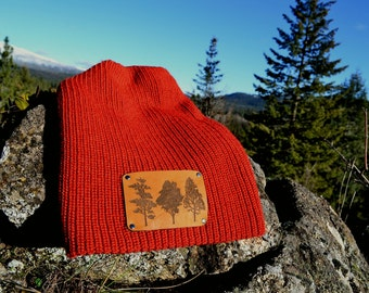 Love of Trees Wool Beanie