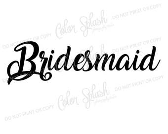 maid of honor svg, dxf, png, eps cutting file, silhouette cameo, cuttable, clipart, cricut file, wedding, bridesmaid