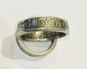 Shilling Coin Ring