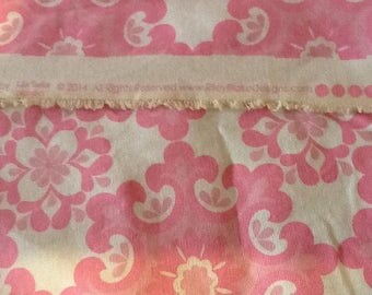 New,Pink, Home Dee Geometric, 2014, denim weight, pillow, tote, upholstry fabric, Riley Blake designs