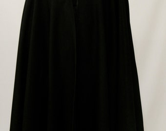 Black Wool Cloak Full Circle Cloak~~Burgundy Cloak Capes Grey Wool Cloak~Brown Cloak~Hooded Cloak~Medieval Cloak Wool~Costume@sohoskirts