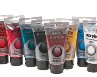 Acrylic paint 10 pieces x 75 ml (2.54 fl oz USA) Craft paint Acrylic paint Colorful colors mix 10 pieces Craft material Painting Handwork