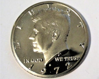 1972-S Clad Proof Kennedy Half Dollar