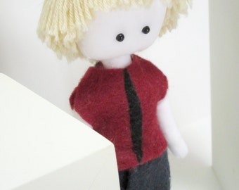 Anthony, Paperdoll Boy Doll, little paperdoll, boy plush