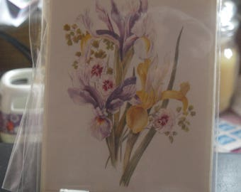 Flowers Notelet