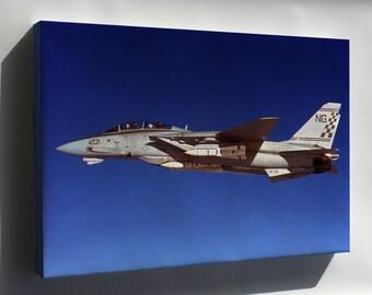 Canvas 24x36; F-14 Tomcat P2