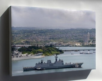 Canvas 24x36; Ins Sahyadri In Pearl Harbour For Rimpac 2014