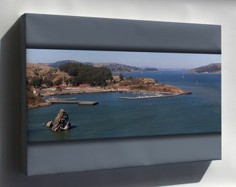 Canvas 16x24; Fort Baker On San Francisco Bay