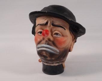 Emmett Kelley 'Weary Willie' Clown Doll Head